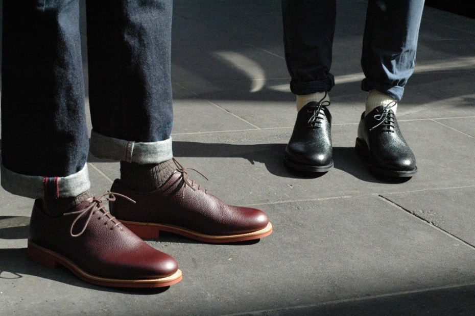Image of Mark McNairy One Piece Derby Shoe