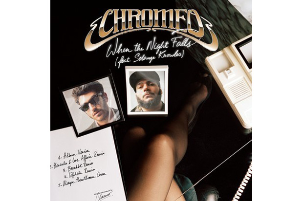 Image of Mayer Hawthorne - When the Night Falls (Chromeo Cover)