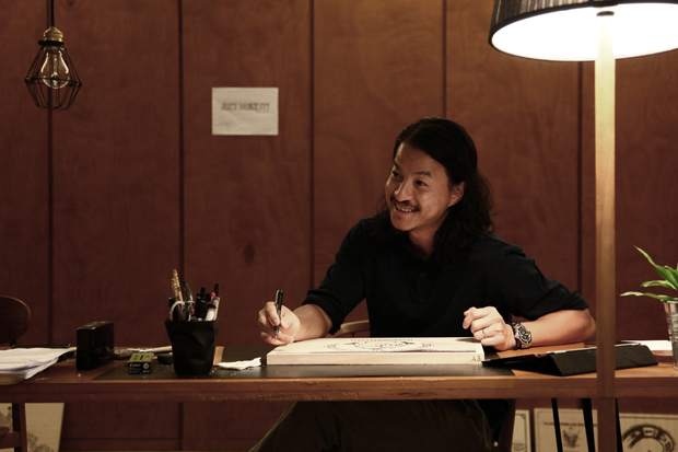 "Image of Michael Lau x Nike ""JUST DO IT"" Exhibition Interview"
