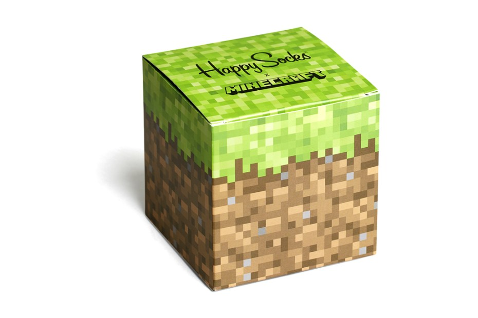 Image of Minecraft x Happy Socks Collection