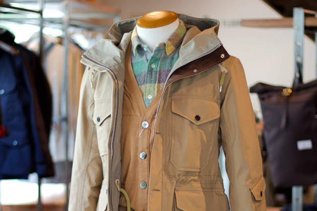 Image of nanamica GORE-TEX Cruiser Jacket