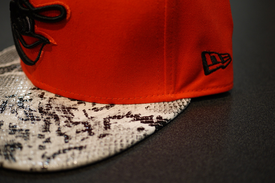 Image of New Era Snakeskin Snapback Preview @ S.L.A.T.E.