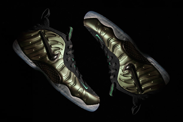 """Image of Nike Air Foamposite Pro """"Pine Green"""""""