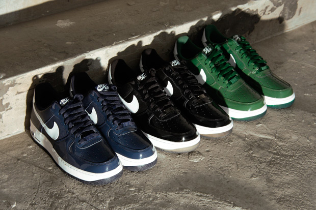 Image of Nike Air Force 1 LE Patent Toe Pack