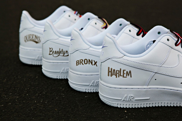"Image of Nike Air Force 1 NYC ""Boro"" Collection"