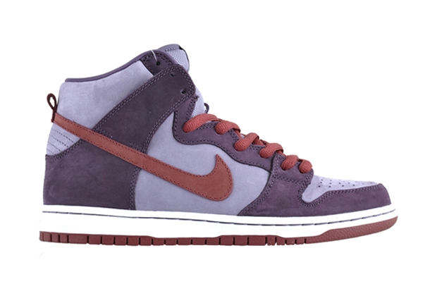 "Image of Nike SB Dunk High Pro ""Plum"""