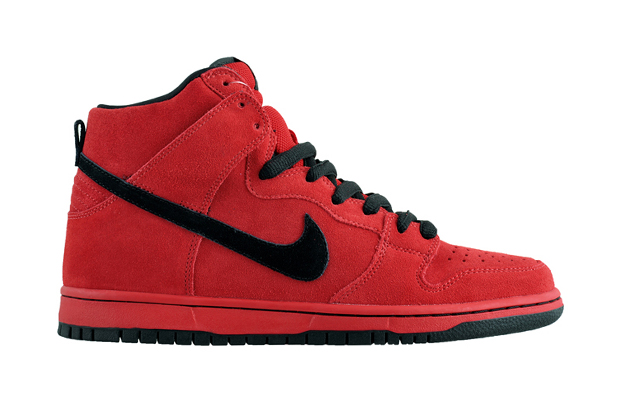 "Image of Nike SB Dunk High Pro ""True Red"""