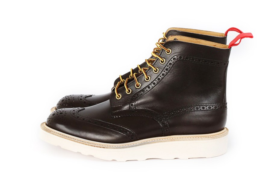 Image of Nitty Gritty x Tricker's Brogue Boots