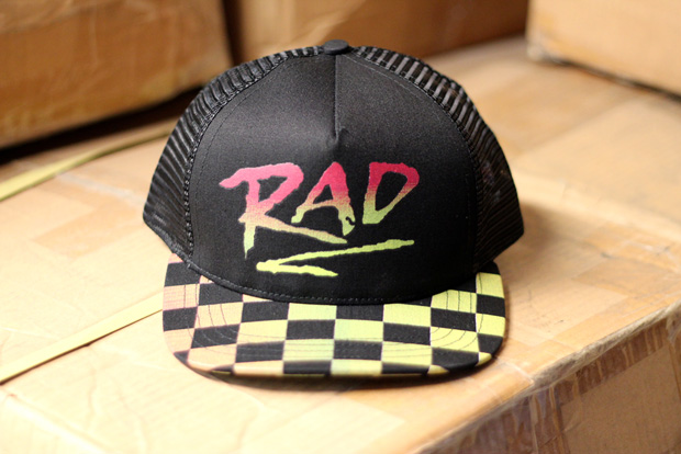 "Image of BMX Gallery 4130 x Quintin Co. ""RAD"" 25th Anniversary Cap"