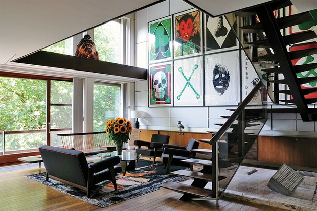 Image of WSJ Presents Raf Simons' Home in Belgium