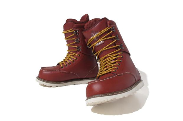 "Image of Red Wing x Burton ""Rover"" Limited Edition Boots"