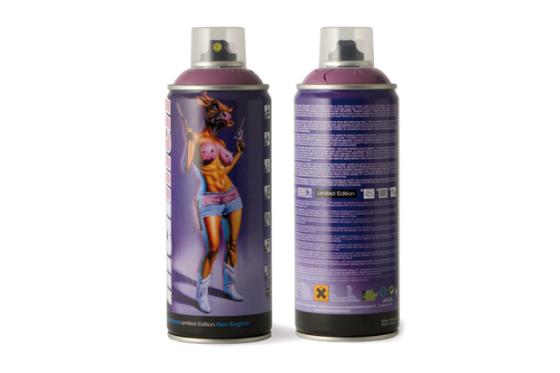 Image of Ron English x MTN Limited Edition Spray Can