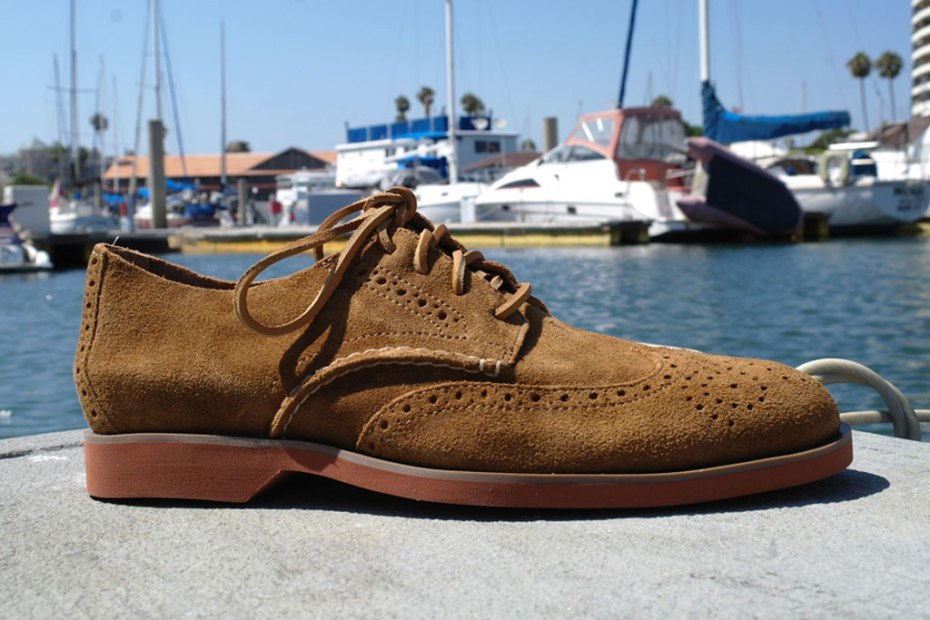Image of Sperry Top-Sider Boat Oxford Wing Tan Suede