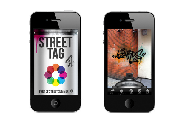 Image of Street Tag iPhone App