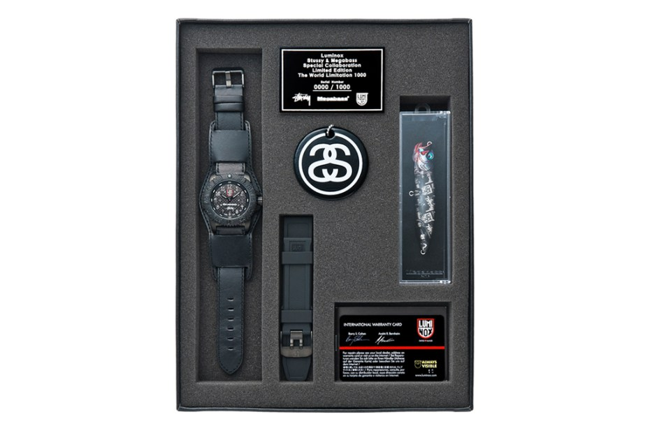 Image of Stussy x Megabass x Luminox Collection