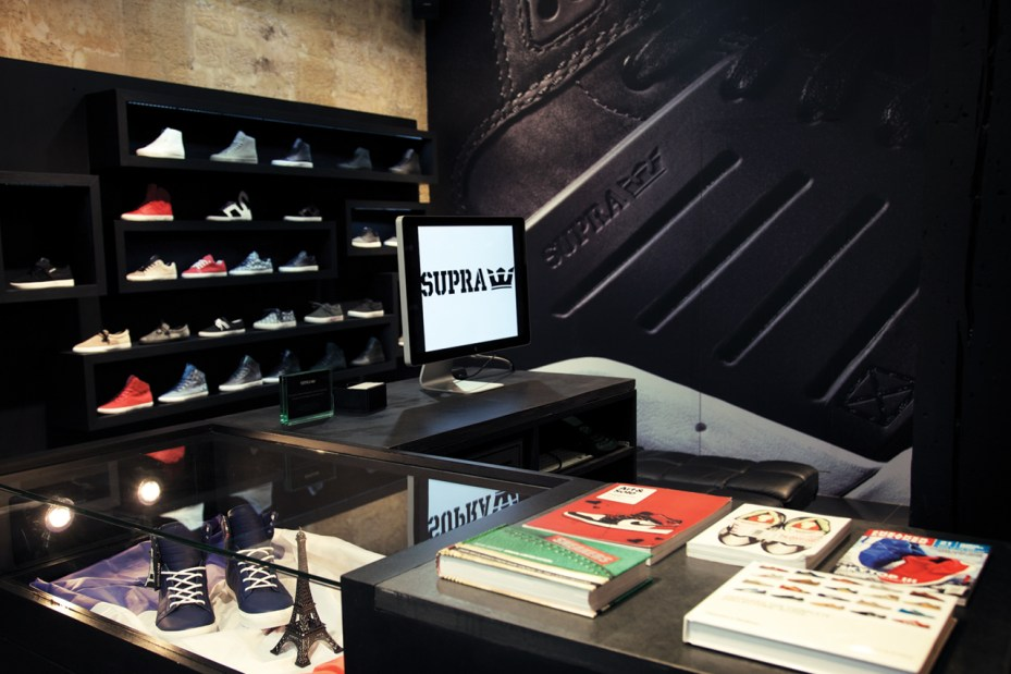 Image of SUPRA Paris Store Opening