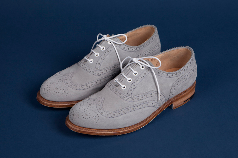 Image of Tenue de Nîmes x Grenson Wingtip Brogue