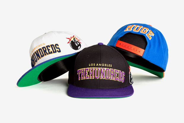"Image of The Hundreds 2011 Fall/Winter ""Player Hat"" Snapback Collection"