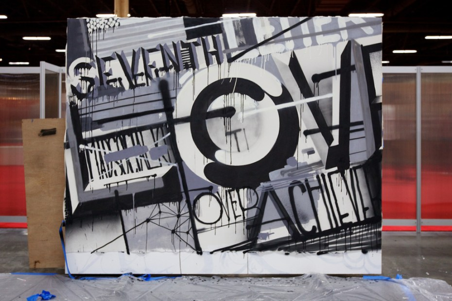 Image of The Seventh Letter Crew Live Painting Session @ S.L.A.T.E.