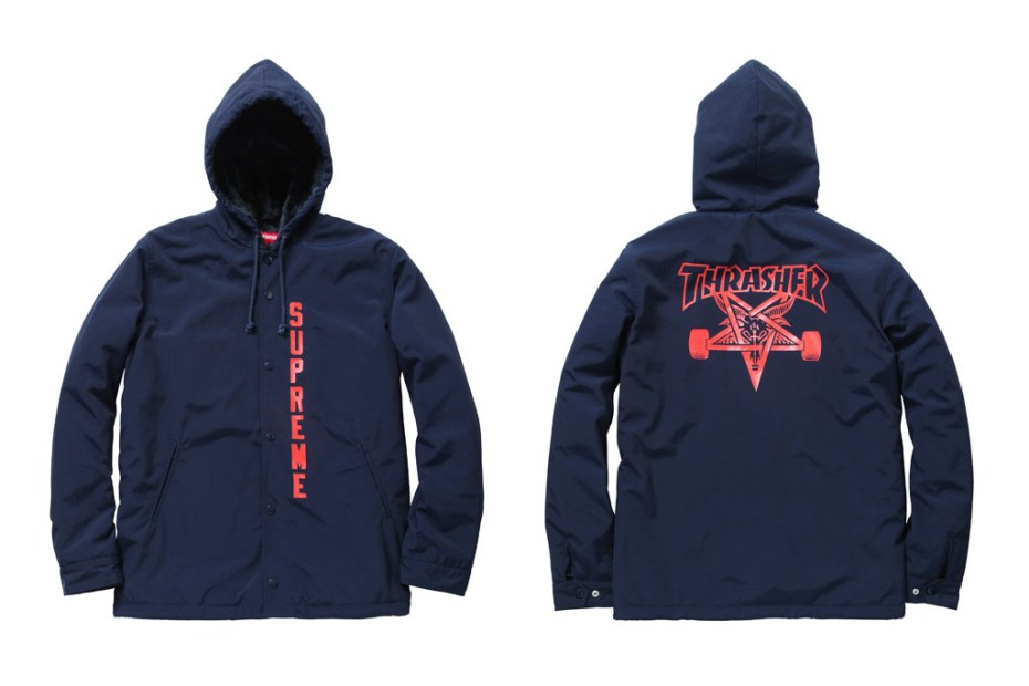 Image of Thrasher x Supreme 2011 Fall/Winter Collaboration 