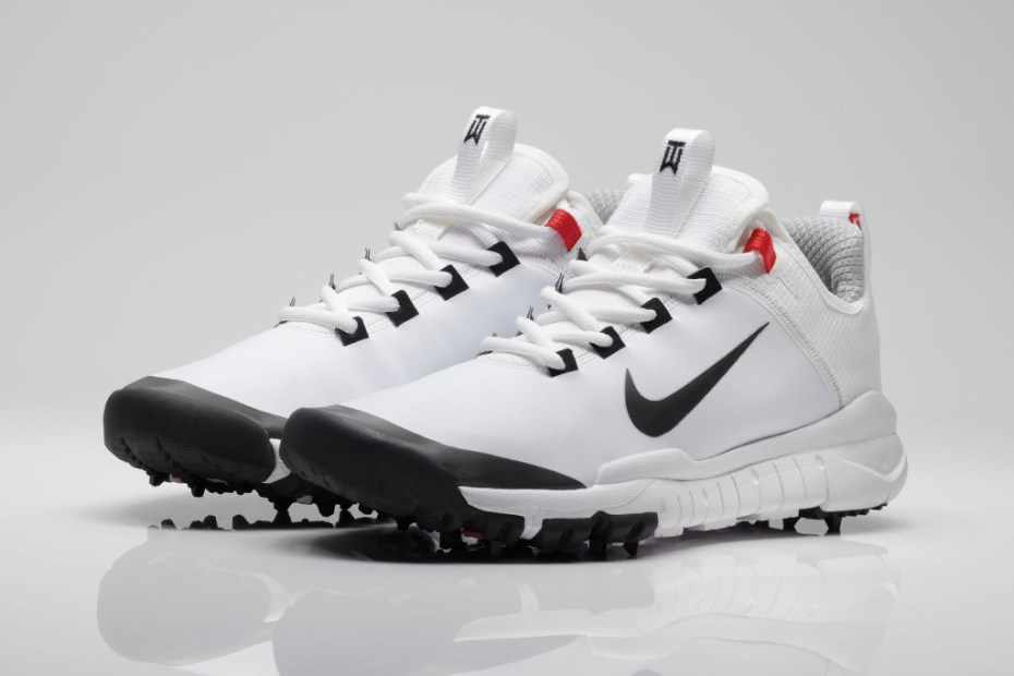 Image of Tiger Woods x Nike Free Golf Shoe Prototype White