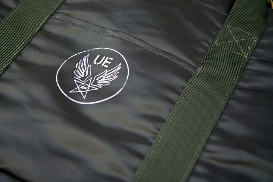 Image of uniform experiment x ALPHA 2011 Fall/Winter Helmet Bag