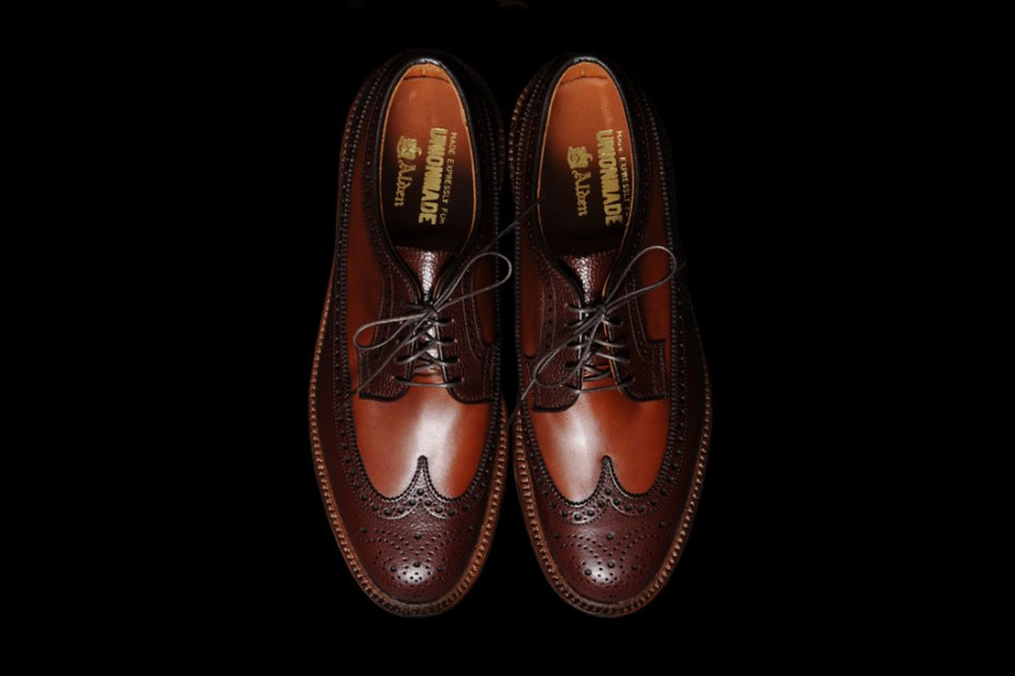 Image of UNIONMADE x Alden McClaren Two-Tone Longwing