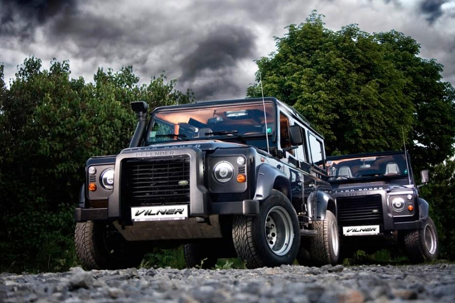 Image of Vilner x Land Rover Defender