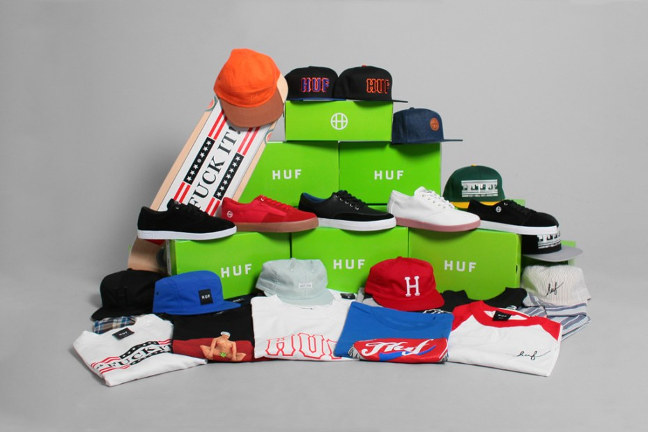 Image of Win a $500 HUF Gift Certificate and Skate Deck from Bricksworth!