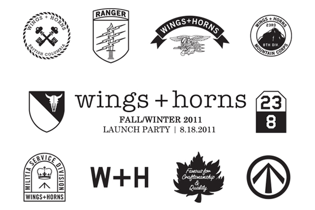 Image of wings + horns 2011 Fall/Winter Launch Party @ Roden Gray