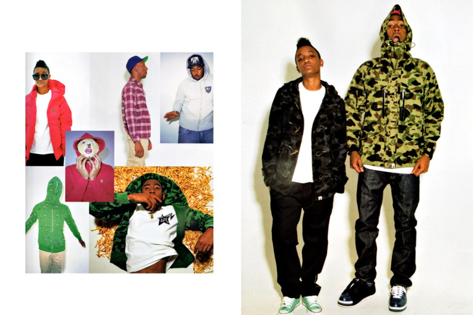 Image of A Bathing Ape 2011 Winter Collection Mook Featuring Odd Future