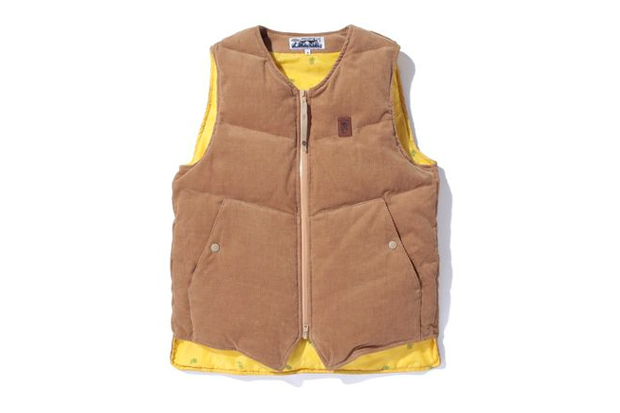 Image of A Bathing Ape CORDUROY DOWN VEST