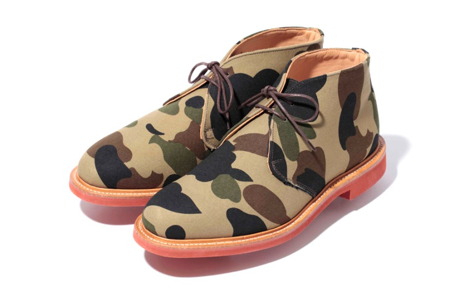Image of A Bathing Ape x Mark McNairy 2011 Fall/Winter 1ST CAMO Collection