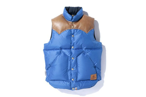 Image of A Bathing Ape ROCKY MOUNTAIN DOWN VEST