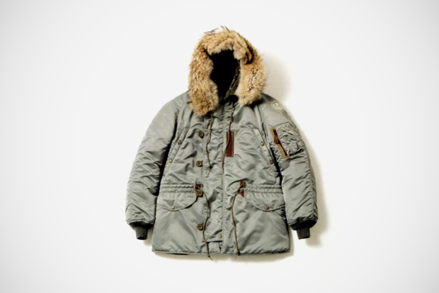 Image of A Bathing Ape x TOYS McCOY N-3 Jacket