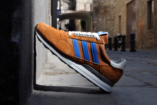 Image of adidas ZX 500 Spice/Bluebird-Vapor