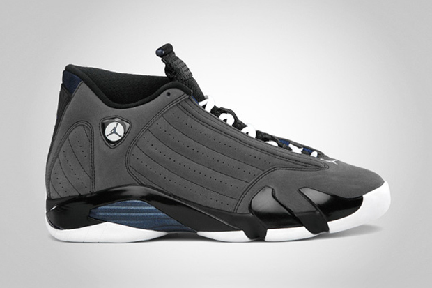 Image of Air Jordan 14 Retro Light Graphite/Midnight Navy