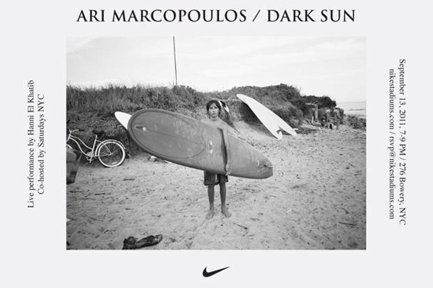 "Image of Ari Marcopoulos ""Dark Sun"" Exhibition @ Bowery Stadium"