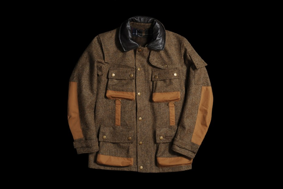 Image of Barbour TO KI TO Military Tweed Jacket