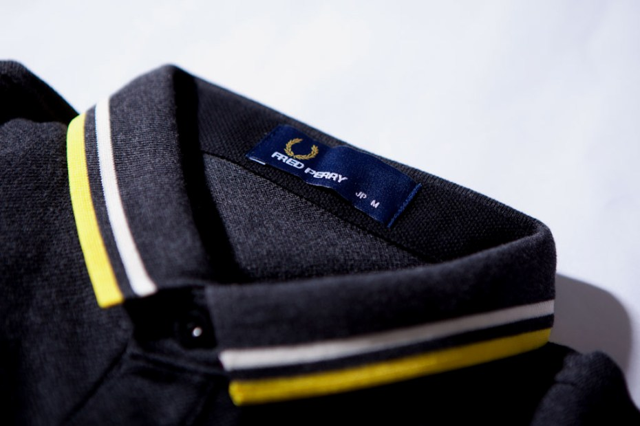 Image of BEAMS x Fred Perry 3/4 Length Polo Shirts