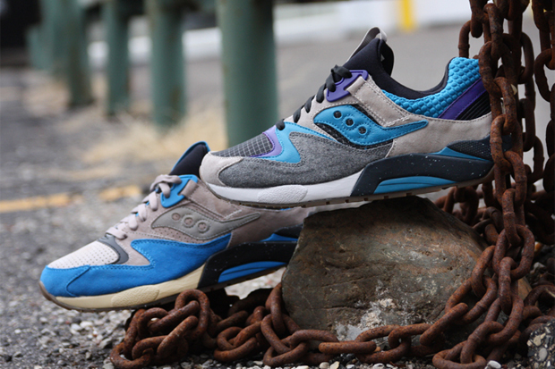 Image of Bodega x Saucony Grid 9000 Pack
