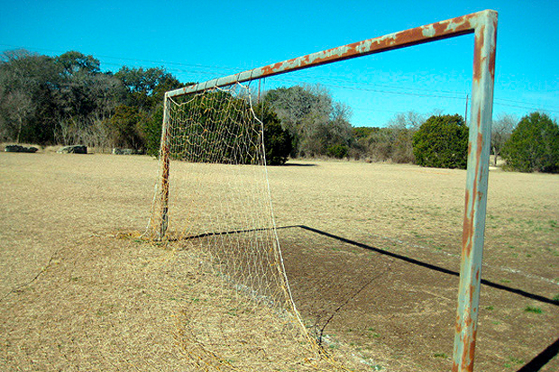 "Image of Bumpy Pitch ""Soccer in America"" Photo Contest"