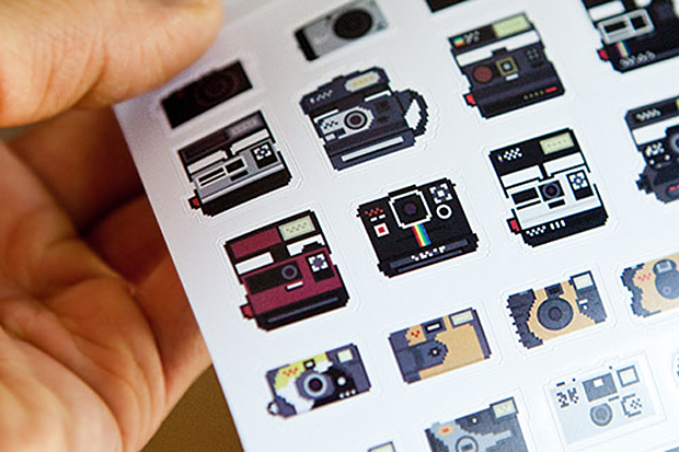 Image of Camera Stickers by Billy Brown
