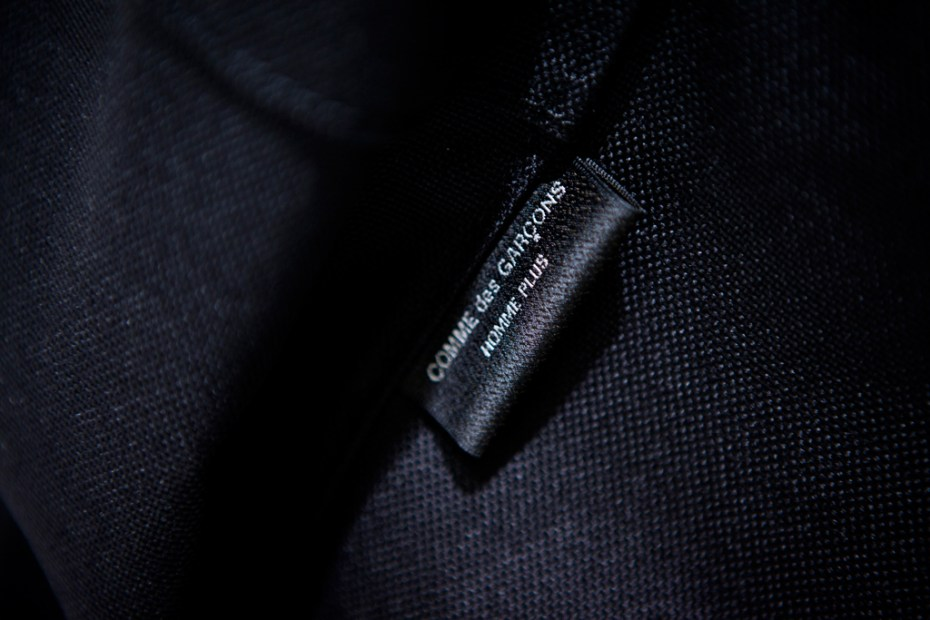 Image of COMME des GARCONS Homme Plus Oversized Nylon Backpack