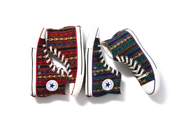 "Image of Converse Japan All Star ""Wool"" Hi"