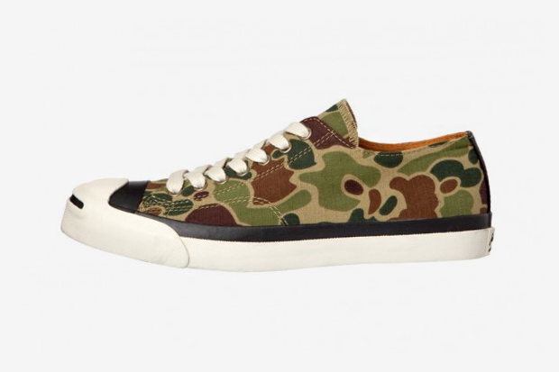Image of Converse Japan Jack Purcell Hunter-Camo &quot;Converse Hunting Club&quot;
