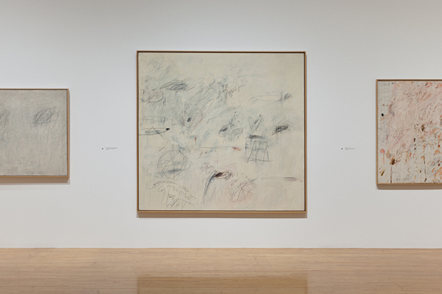 Image of Cy Twombly Tribute: A Scattering of Blossoms & Other Things Exhibition @ MOCA