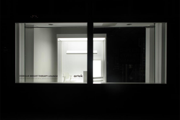 "Image of Dover Street Market ""The White Collection"" by Artek STUDIO Display Window"