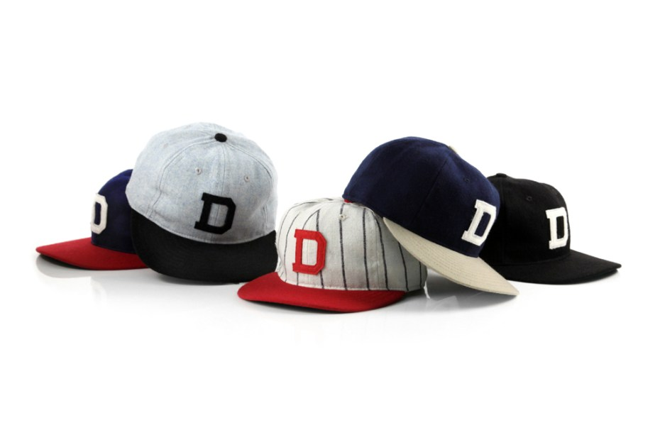 Image of DQM x Ebbets Field Flannel Caps