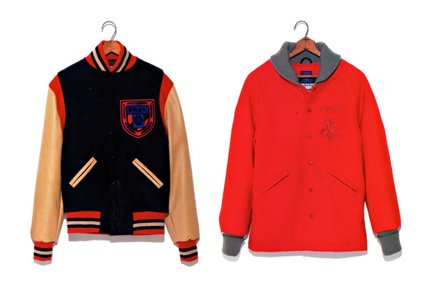 Image of A Bathing Ape x Ebbets Field Flannels 2011 Winter Coat Collection